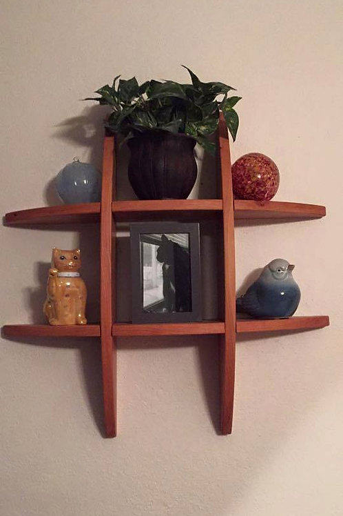 Tic-Tac-Toe Shelf