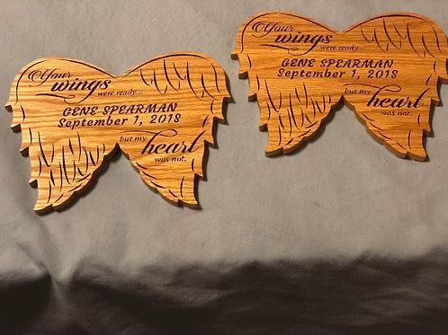 Memorial Angel Wings