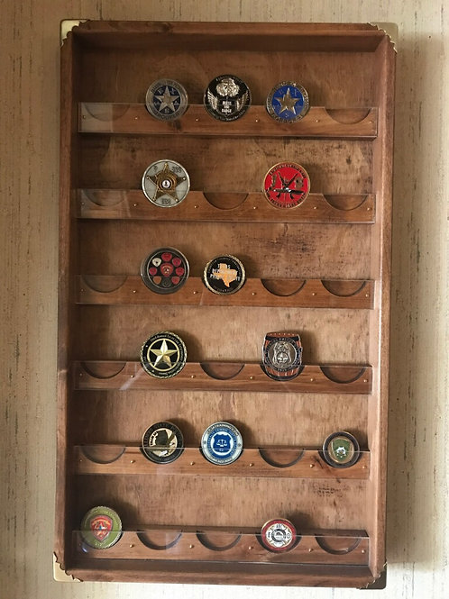 Challenge Coin Case - 30 Count
