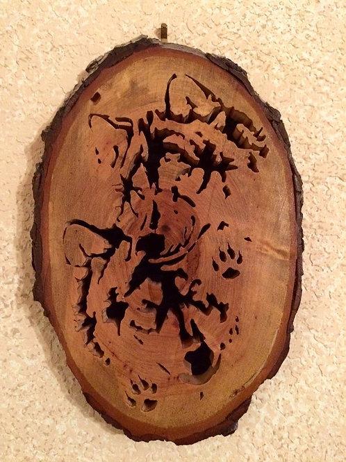 Hidden Wolves Hanging Art
