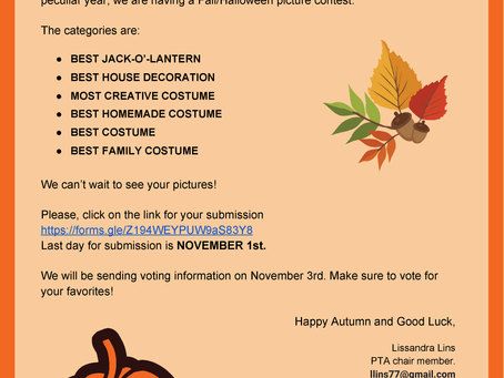 Fall/Halloween Photo Contest