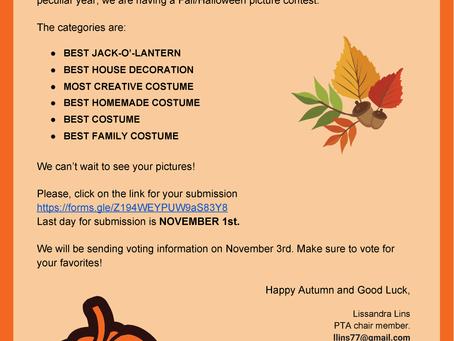 Fall/Halloween Photo Contest