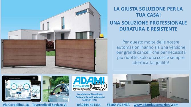 La giusta soluzione per la tua casa!