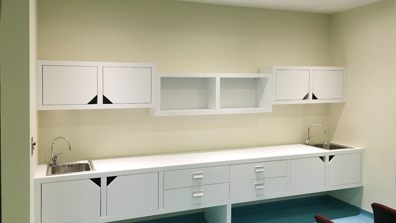 Laminate Cabinets  (2)