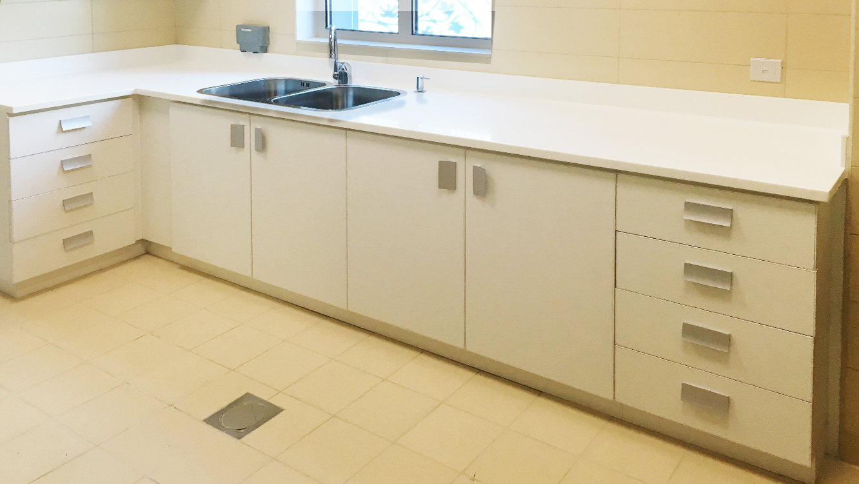 Laminate Cabinets  (4)