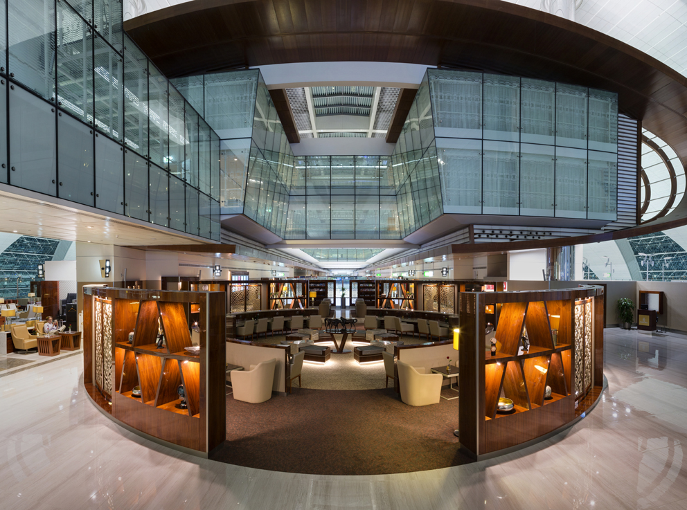 Emirates Business Class Lounge- T3-1