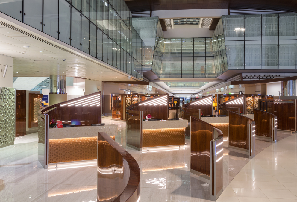 Emirates Business Class Lounge- T3-4