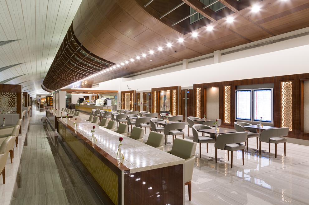 Emirates Business Class Lounge- T3-7