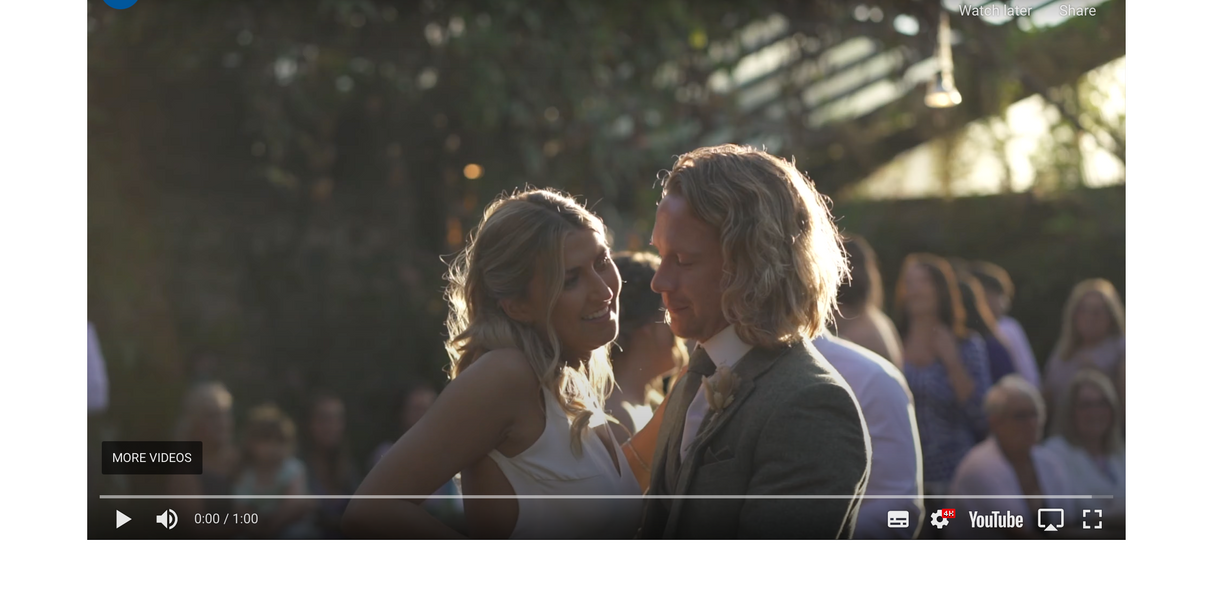 Wedding Videographer - Rock My Wedding Feature