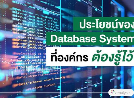 ประโยชน์ของ Database System ที่องค์กรต้องรู้ไว้!