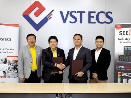 วีเอสที อีซีเอส (ประเทศไทย) และ ซีนาไลส ร่วมพิธีลงนามแต่งตั้งตัวแทนจำหน่ายซอฟต์แวร์ SEESET Real-Time