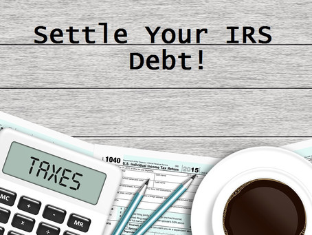 IRS Tax Debt Relief | How to Resolve | Flat Fee Tax Service | San Diego