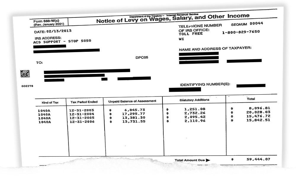 IRS Final Notice