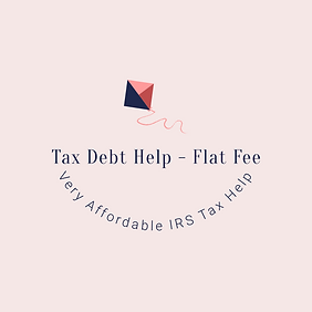 Tax Debt Help - Flat Fee