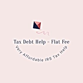 Tax Debt Help - Flat Fee