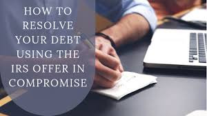 Under the right set of circumstances, the IRS will settle tax debt.
