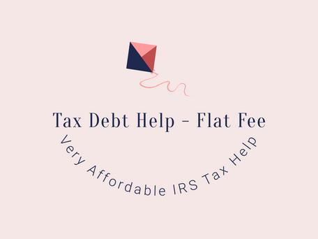 IRS Tax Debt - Tax Settlement Help