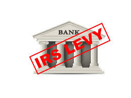 IRS Bank Levy - San Diego - California