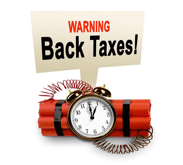 IRS Tax Debt - Back Taxes