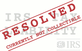 Currently not Collectible - IRS Hardship