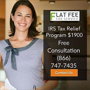 Flat Fee Tax Relief