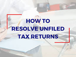 Unfiled Tax Return - Failure to File