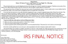 IRS Notice
