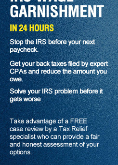 Stop IRS Wage Garnishment Right Away | Florida