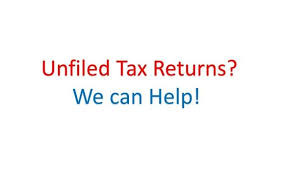 You must file the last six years of tax returns in order to receive tax relief.