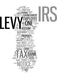 IRS Levy - Tax Garnishment