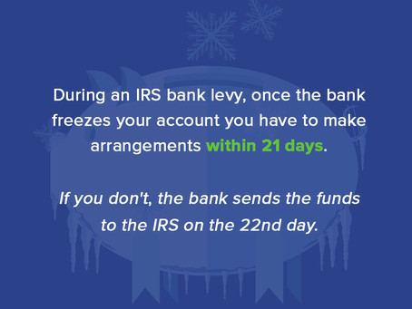 Can the IRS Freeze Your Assets? | Tax Levy Questions and Answers | Flat Fee Tax Service
