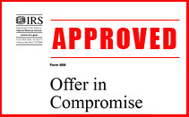 Offer in Compromise - Houston Tax Settlements
