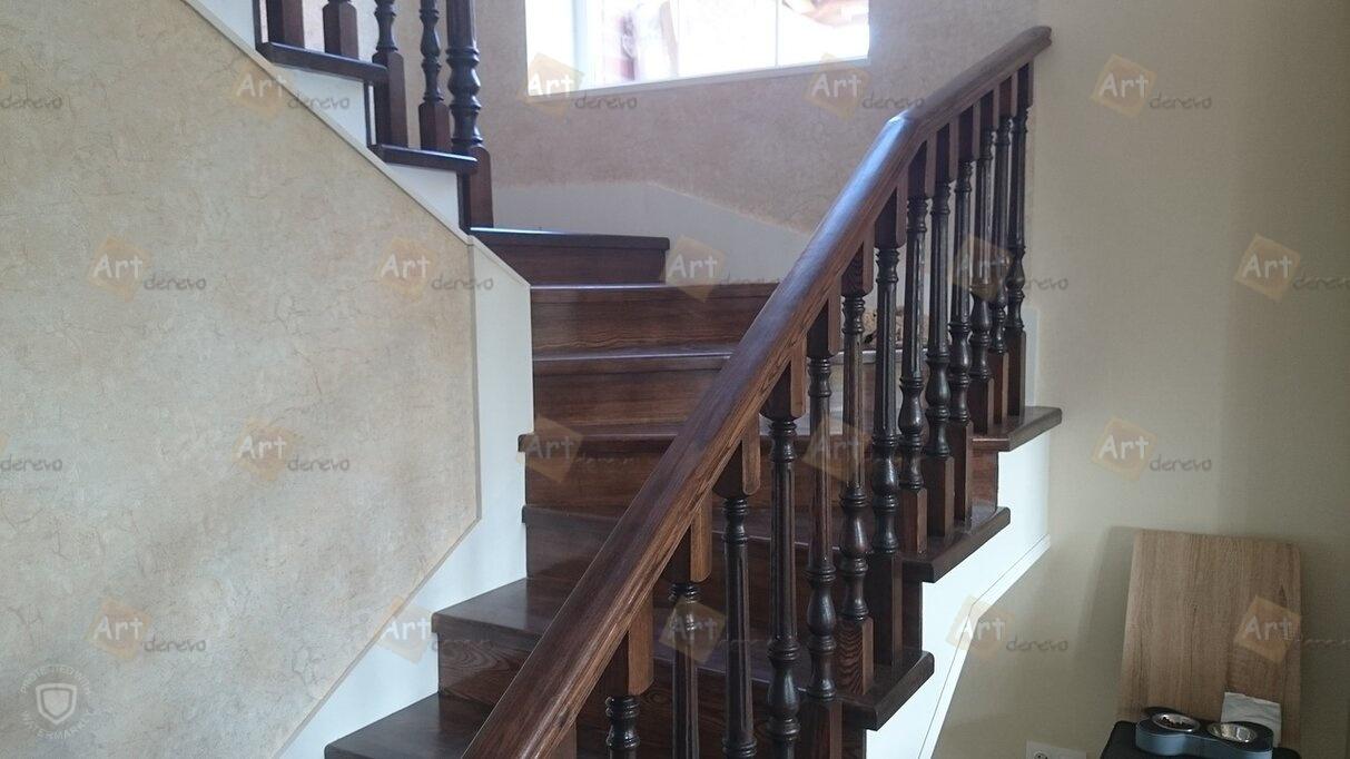 Лестницы из дерева ценных пород