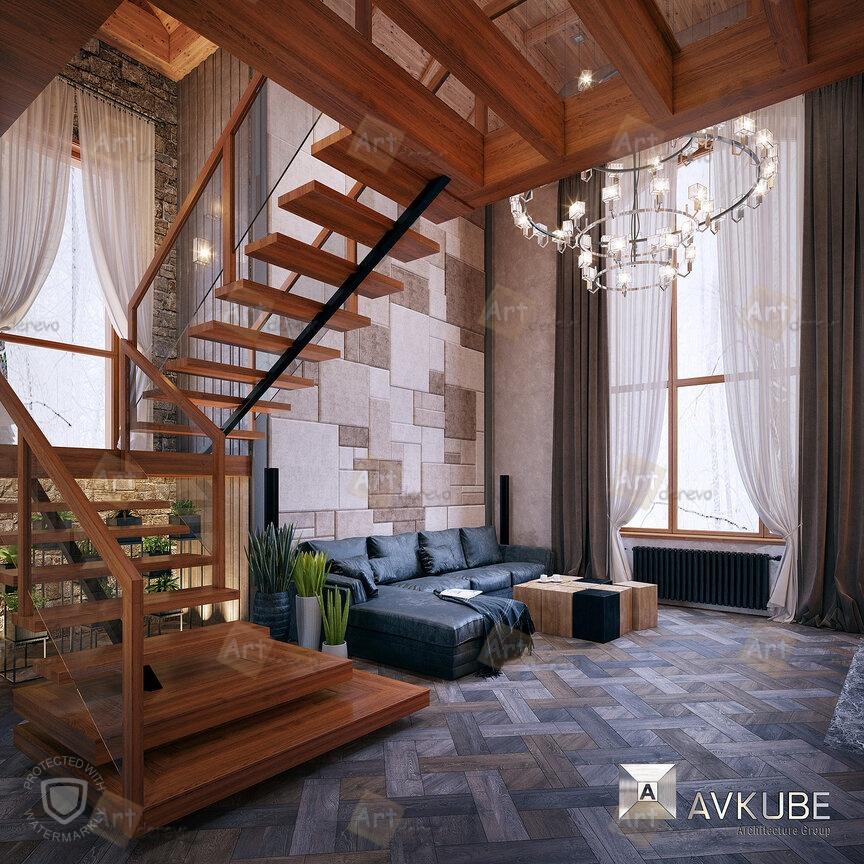 Дизайнерские лестницы в Москве