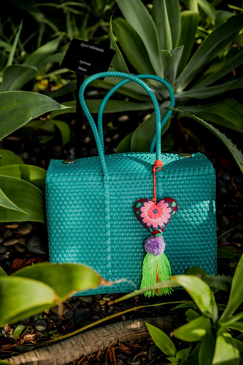 Turquoise Maru Basket