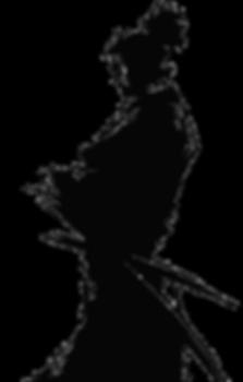 ronin's silhouette