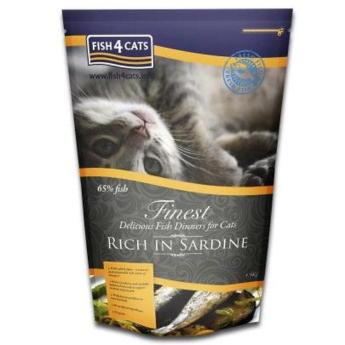 Fish4Cats Finest sardina suha hrana za mačke