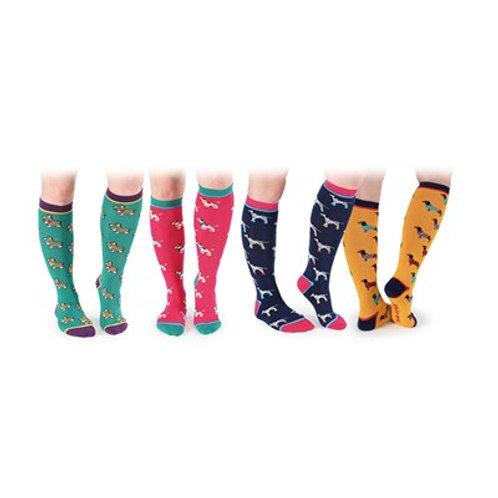 Jahače čarape s uzorcima pasa