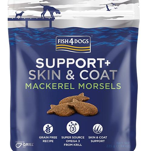Fish4Dogs Skin&Coat skuša 225 g