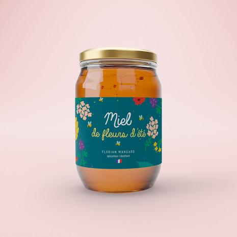Miel packaging