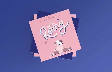 Faire-Part Romy