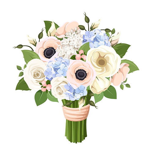 Designers Choice Seasonal Bouquet - Delightful
