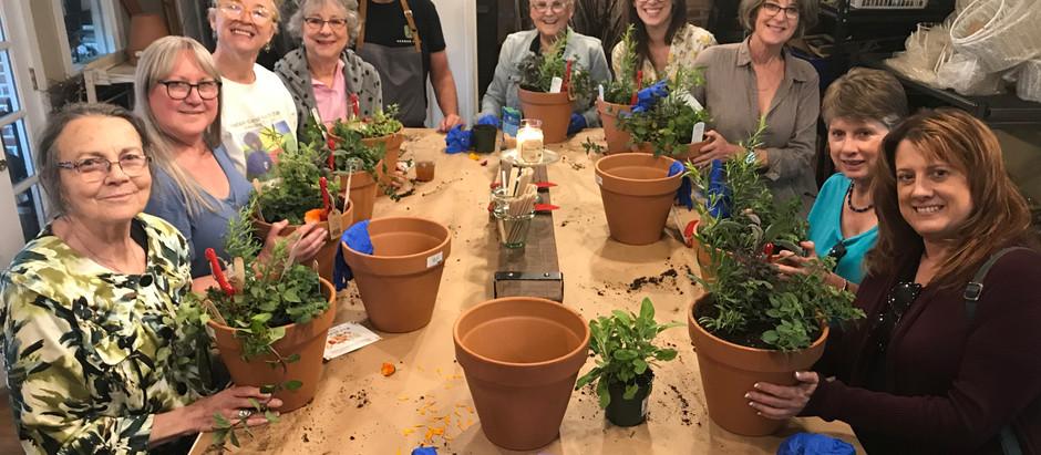 Class Recap: Gardening & Cooking with Herbs