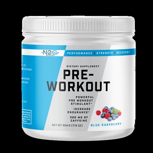 Pre-Workout - Blue Raspberry
