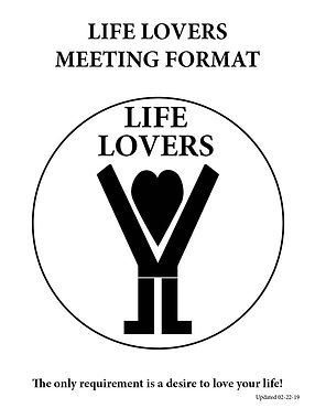Life Lovers Meeting Format Cover