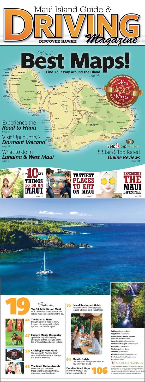 2019 Maui Driving Magazine
