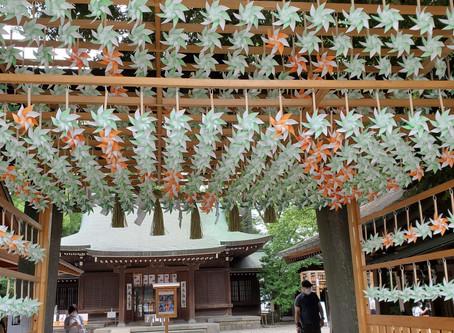 川越氷川神社へ独りで行って来た