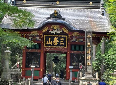 やっと行ってきた三峯神社へ