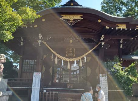 行田八幡神社参拝