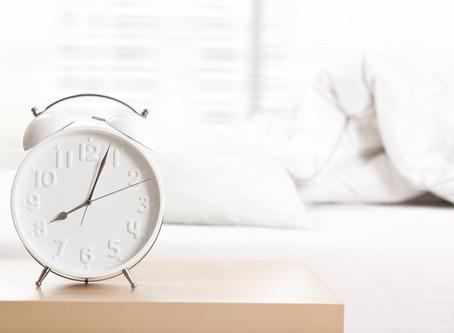 The joy of sleep...?